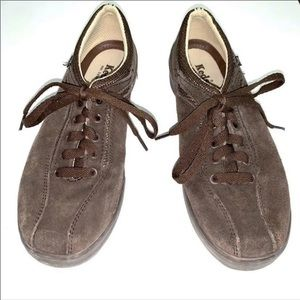 Brown suede Keds-9